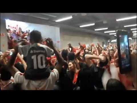 """Guarda Popular - Túnel - Inter x Fluminense"" Barra: Guarda Popular • Club: Internacional"
