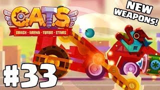 ULTIMATE LEAGUE CHAMPION! | C.A.T.S | Crash Arena Turbo Stars Gameplay Part 33