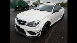 This auction grade 4.5 B Mercedes Benz C63 AMG Black Edition