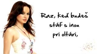 Kristína - Pri Oltári ( + lyrics on screen )