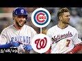 Chicago Cubs vs Washington Nationals Full Game Highlights May 18 2019 2019 MLB Season