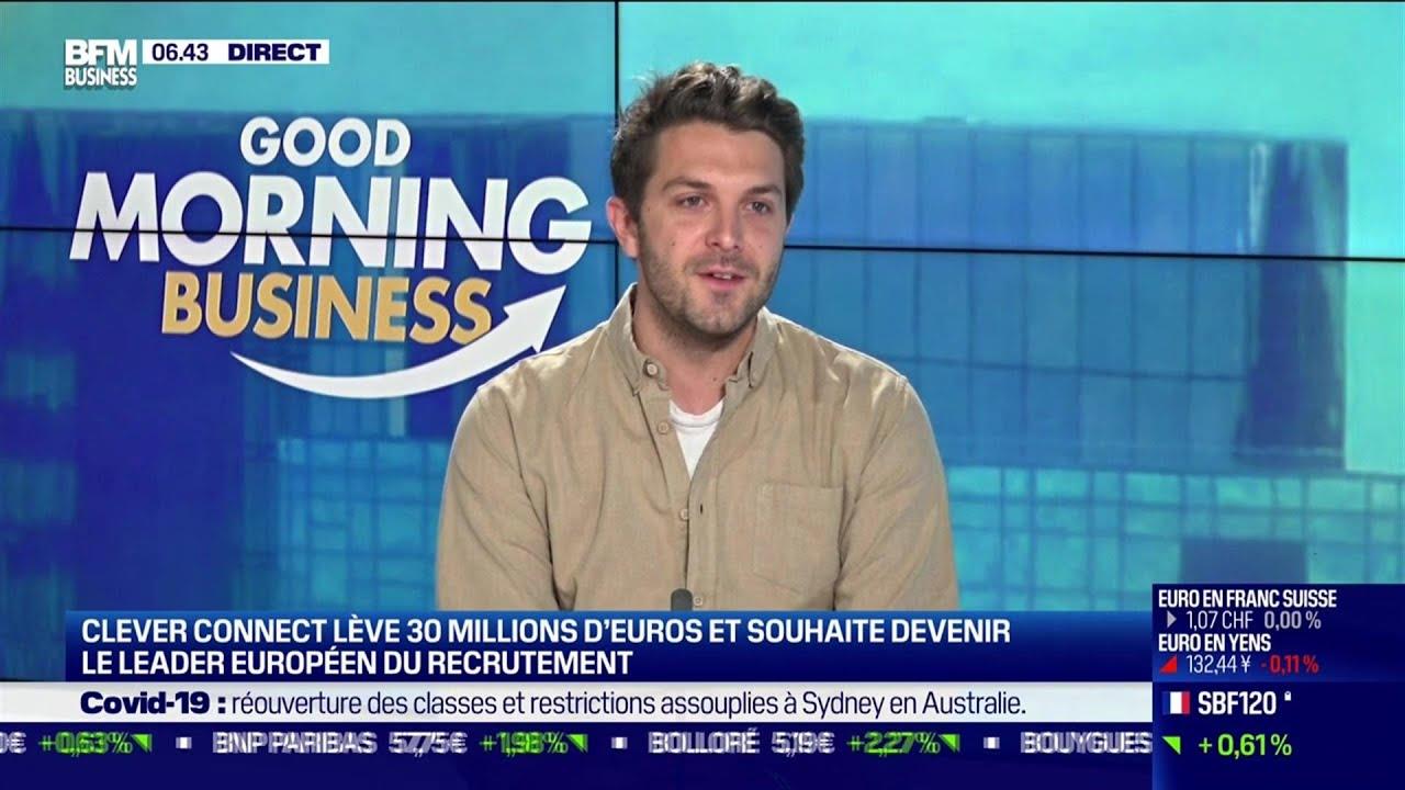 Louis Coulon (CleverConnect) : CleverConnect souhaite devenir le leader européen du recrutement