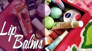 Minha Coleção De Lip Balms