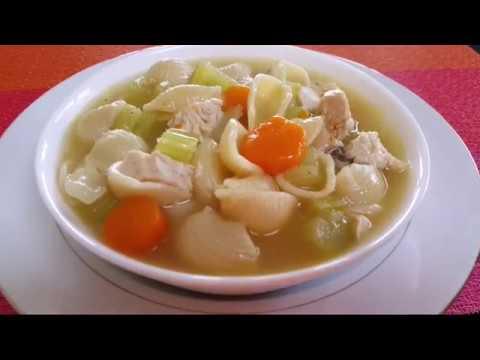 Chicken Vegetables Soup