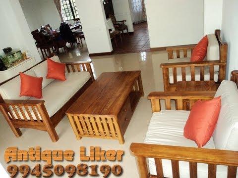 Teak Wood Furniture Sofa