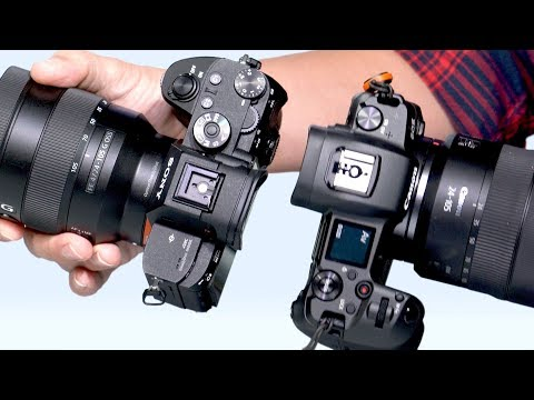 Canon EOS R vs Sony a7 III Review: Full-frame mirrorless camera comparison!