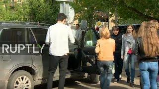 LIVE outside Gogol-centre after Serebrennikov taken for questioning by police