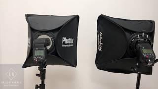 Обзор софтбоксов для фотостудии