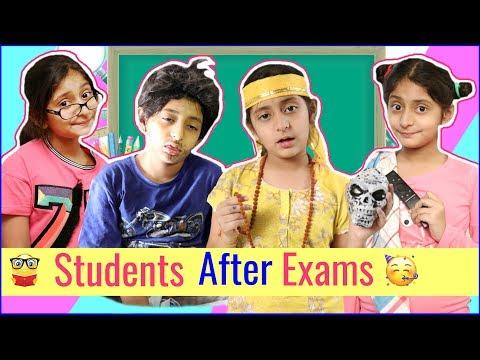 STUDENTS After EXAMS - Types Of Kids | #RolePlay #Sketch #Funny #MyMissAnand