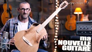 La Minute Utile du musicien fête ses 50000 abonnés avec une guitare Kopo. Merci à Laurent Rousseau !