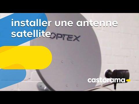 Installer une antenne satellite (Castorama)
