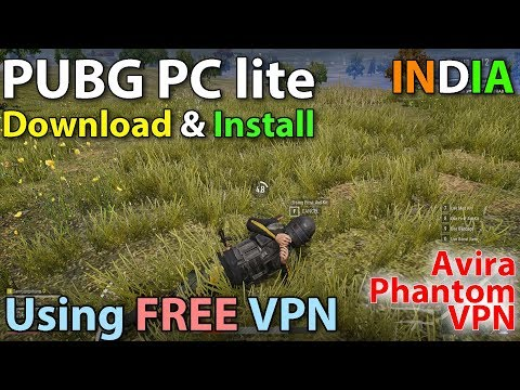 PUBG LITE - How to Play PUBG on PC for Free! [Free VPN included