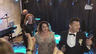 Danuta i Zenon Martyniuk Akcent zaśpiewali wspólnie na weselu syna (Disco-Polo.info)