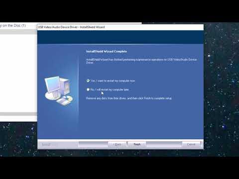 Installing the Easy-Link USB Video Grabber