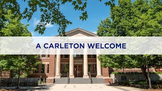A Carleton Welcome to the Class of 2024