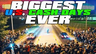 $12,000 STREET RACE - 42 Car Cash Days! [Full Movie]