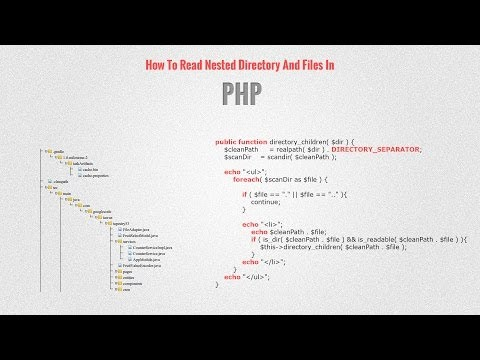 How To Read Nested Directory And Files In PHP Mp3