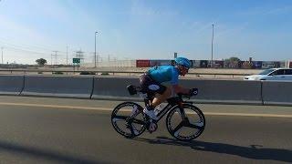 Ironman 70.3 in Dubai with Alexandr Vinokurov