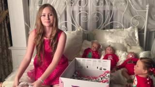 Открываю новогодний подарок.🎁Reborn baby box opening!🎁🎁