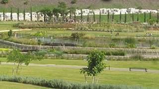 preview picture of video 'Ariel Sharon Park (Israel`s Metropolitan Park) - until 1998 the area was used a garbage dump'