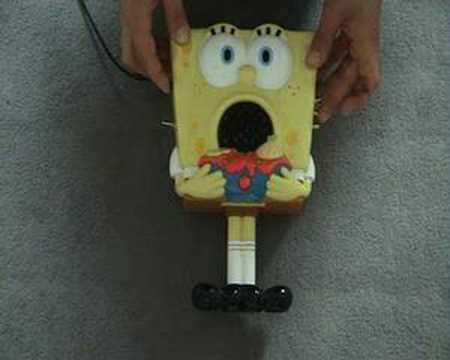 Circuit bent Bob Sponge Toy  - video 01