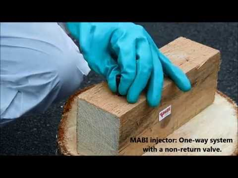 Video Wood treatment for termites and other wood destroying organisms | MABI USA