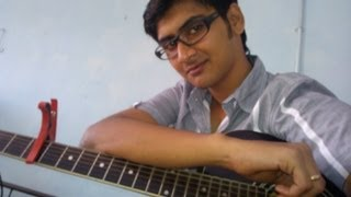 """""""Ishq wala love"""" (Student of the year) Guitar lesson by Mykee"""