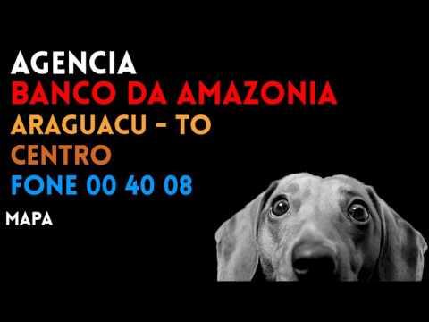 ✔ Agência BANCO DA AMAZONIA em ARAGUACU/TO CENTRO - Contato e endereço
