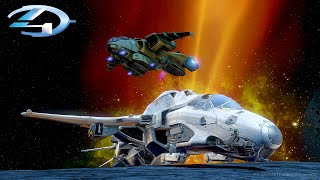 FLYABLE PELICAN AND BROADSWORD IN HALO 4 FORGE