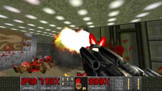 Doom 2: Russian Overkill and Maps of Chaos Overkill MAP01 (Entryway)