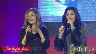REGINE VELASQUEZ & DONNA CRUZ - I Can (The Regine Series Nationwide Tour - SM City Cebu)