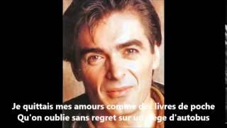 daniel lavoie   je pensais pas with lyrics