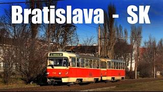 preview picture of video 'BRATISLAVA TRAM - Električka v Bratislave (28.-31.12.2013)'