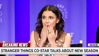 Millie Bobby Brown REVEALS Stranger Things Season 4 SECRETS!