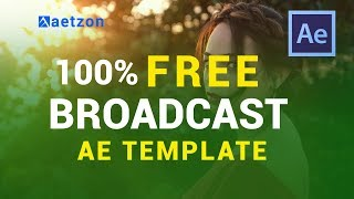 videohive after effects template complete news 5 म फ त