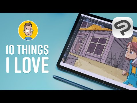 10 Things I Love About Clip Studio Paint