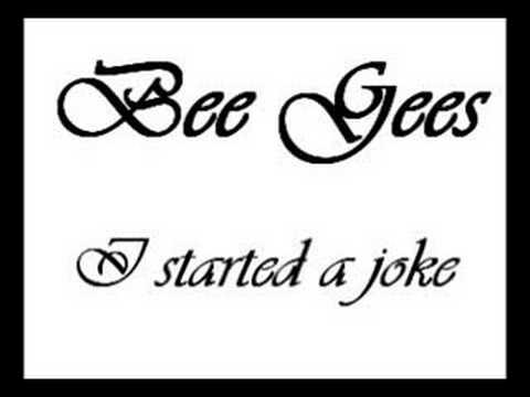 I Started A Joke chords & lyrics - Bee Gees
