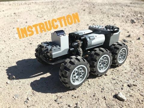 Lego Tatra 6x6 Chassis - смотреть онлайн на Hah Life