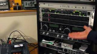 Part 15 Rangemaster AM Transmitter Set-up and Upgraded Studio Components