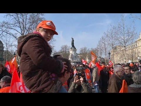 Γαλλία: Νέα διαδήλωση για την εργατική μεταρρύθμιση
