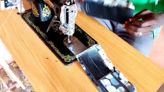 preview picture of video 'AFRICAN PRINT FABRIC WALLET FIRST OF ITS KIND DIY'
