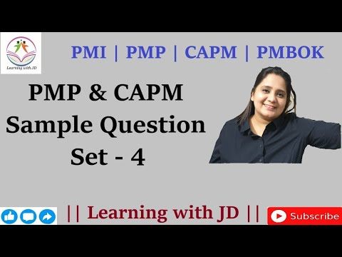 PMP & CAPM Sample Questions and Answers Set 4 | PMI | PMBOK