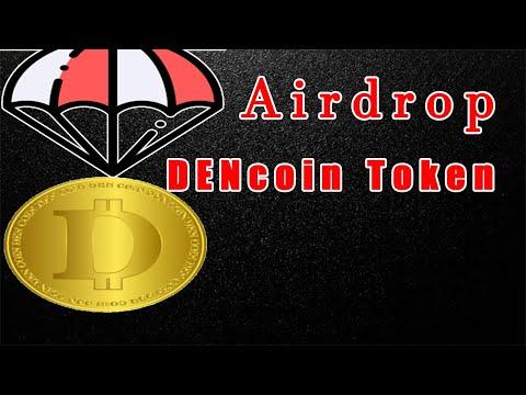 Airdrop DENcoin Token ($2) Grátis !