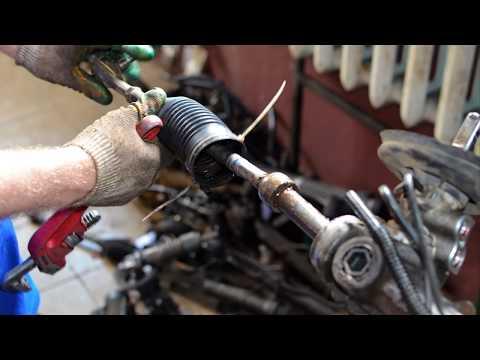 Восстановление рулевой рейки Пежо/Peugeot 206/306/307/406/806 двигателем 2.0 hdi 8v