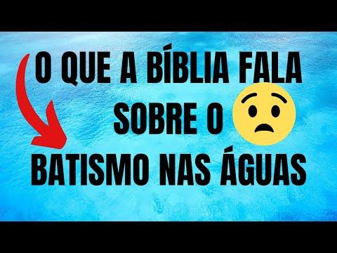 O que a bíblia diz sobre o batismo nas águas, Pastora Claudia Marcia,13 de agosto de 2021#Reflexão