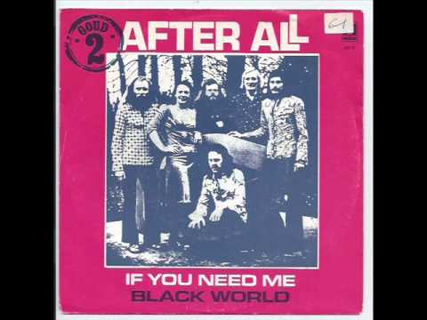 After All - If you need me