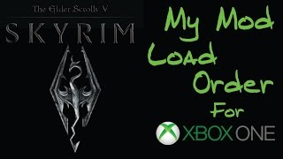 Skyrim SE - My Personal Load Order May 2018 - Xbox One - Самые