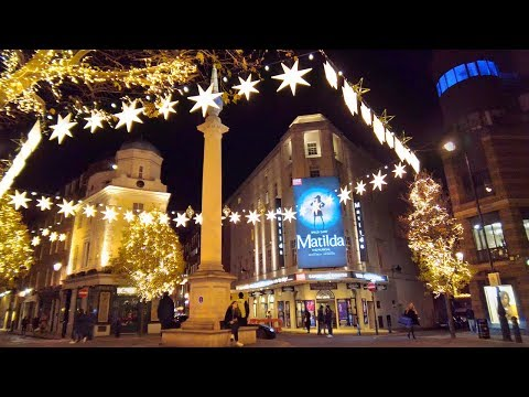 Christmas Walking London ✨ Seven Dials to Regent Street and Carnaby Street