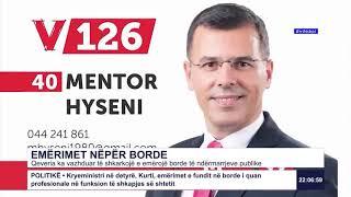 RTK3 Lajmet e orës 22:00 03.04.2020