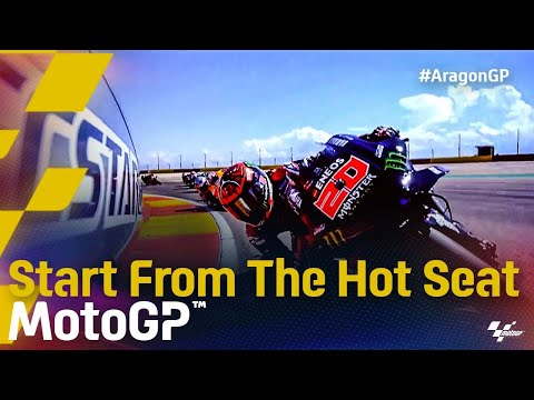 MotoGP 2021 第13戦アラゴンGP 決勝レースシートアングルから見たオンボード動画